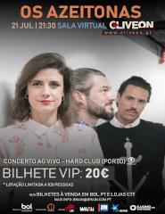 Os Azeitonas - Quarteto - Bilhete VIP