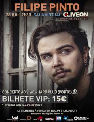 Filipe Pinto - Bilhete VIP