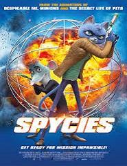 Spycies Agentes Especiais # 15h00 | 19h00