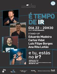 É Tempo de Ir | Stand Up Comedy - Live Streaming