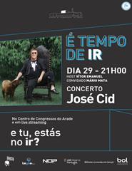 É Tempo de Ir | José Cid - Live Streaming