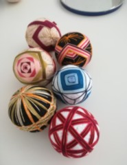 TEMARI - Bolas de Mão Japonesas|  Workshop Presencial e Online