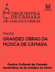 GRANDES OBRAS DA MÚSICA DE CÂMARA – Recital OCCO