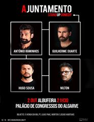 Ajuntamento - António Raminhos, Guilherme Duarte, Hugo Sousa, Nilton