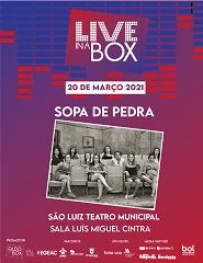 Live in a Box - SOPA DE PEDRA