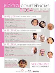 Gratuito - CICLO DE CONFERÊNCIAS ROSA