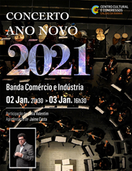 Música | Concerto de Ano Novo 2021