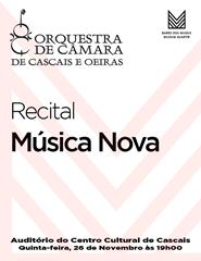 MÚSICA NOVA 2020 - Recital OCCO