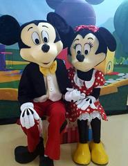 MICKEY E MINNIE UMA AVENTURA NO TGV