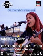 Concerto da Bruna Costa - Da rua para o ecrã