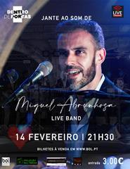 Concerto Miguel Abrunhosa e Live Band