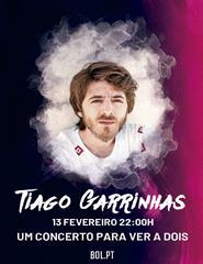 TIAGO GARRINHAS - Um concerto para ver a dois, imperdível!