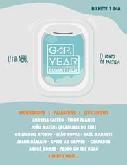 Gap Year Summit 2021 - Bilhete 1 dia