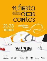 11ª FESTA DOS CONTOS - JARDIM DA PALAVRA - 21 de Maio - 18h