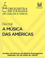 A MÚSICA DAS AMÉRICAS - Recital OCCO
