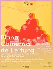 Plano comensal de Leitura de Marta Bernardes