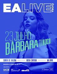 EA LIVE ÉVORA – Bárbara Tinoco