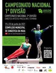 Campeonato Nacional de 1ª e 2ª Divisão - Ginástica Artística
