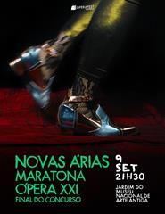 Novas Árias – Maratona Ópera XXI OPERAFEST Lisboa