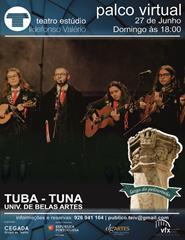 TUBA - TUNA UNIV. BELAS ARTES - PALCO VIRTUAL - LARGO DO PELOURINHO
