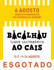 Bacalhau ao Cais - Etnográfico Gaf. Nazaré