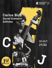 CnJ'21 | Carlos Bica, Daniel Erdmann e DJ Illvibe