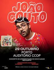 """João Couto - Apresentação do Album """"Boa Sorte"""""""