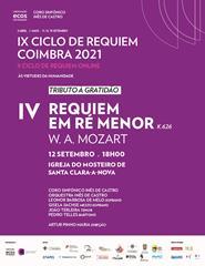 IX Ciclo de Requiem Coimbra 2021   Concerto IV   Requiem de Mozart