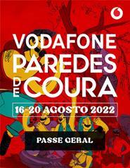Vodafone Paredes de Coura 2022 - Passe Geral
