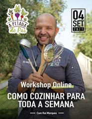 Workshop Como Cozinhar Para Toda a Semana
