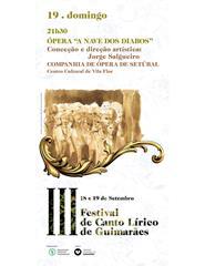 """Ópera """"A Nave dos Diabos"""""""