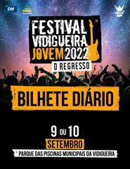 Festival Vidigueira Jovem - Bilhete Diário