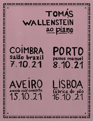 Tomás Wallenstein ao piano