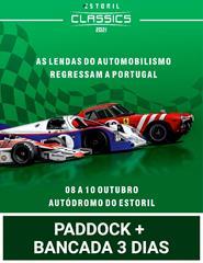 Estoril Classics 2021 | Paddock + Bancada 3 Dias