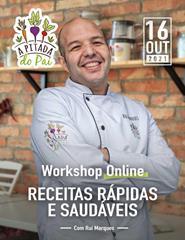 Workshop Receitas Rápidas e Fáceis