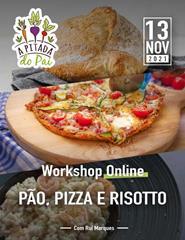 Workshop Pão, Pizza e Risotto