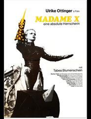 A Cinemateca com o Doclisboa: Ulrike Ottinger | Madame X - Ein ...
