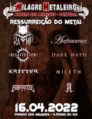 Ressureição do Metal 2022 – Indoor Festival
