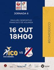 Xico Andebol vs SC Horta