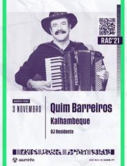 RECEÇÃO AO CALOIRO 2021 - Kalhambeque | QUIM BARREIROS