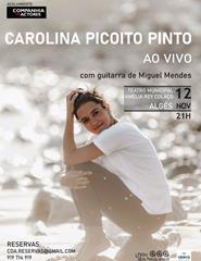 Carolina Picoito Pinto  - Ao Vivo
