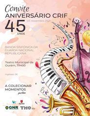 CELEBRAÇÃO DO 45º ANIVERSÁRIO DO CRIF