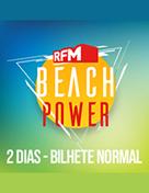 RFM Beach Power - Passe Geral