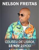 NELSON FREITAS | O REGRESSO AO COLISEU DOS RECREIOS