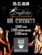 Diogo Pinto em concerto