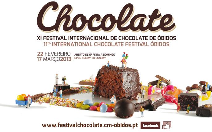 """Festival de Óbidos transforma-se em """"Fábrica de Chocolate"""""""