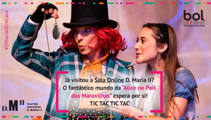 Já visitou a Sala Online D. Maria II?