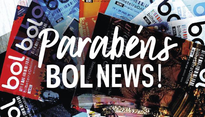 PARABÉNS BOL NEWS - 1º Aniversário!