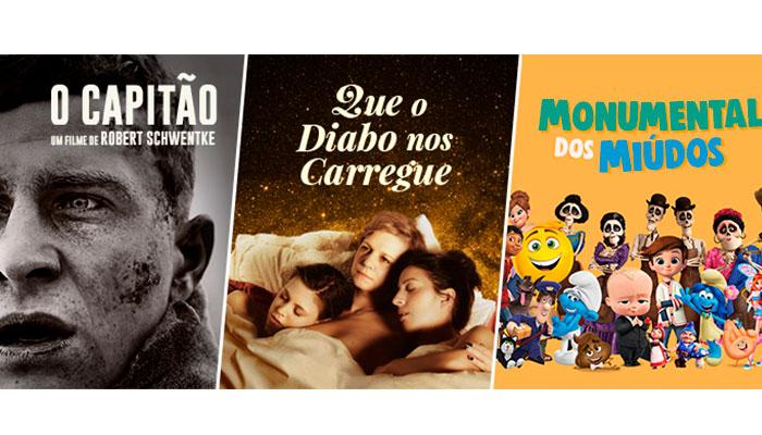 SUGESTÕES DE CINEMA NA BOL - PROGRAMAÇÃO MARÇO