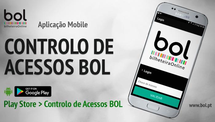 APLICAÇÃO MOBILE CONTROLO DE ACESSOS